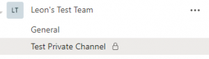 Microsoft Teams – Private Channels Findings