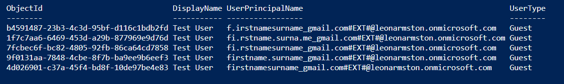 Trick for registering multiple Azure AD B2B guest accounts using the same Gmail address