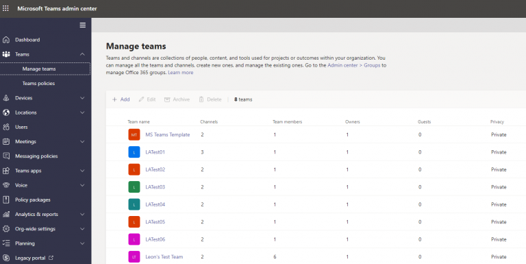 Read more about the article Script reporting on all Microsoft Teams including connected SharePoint sites in a Microsoft 365 tenancy – without using Microsoft Graph